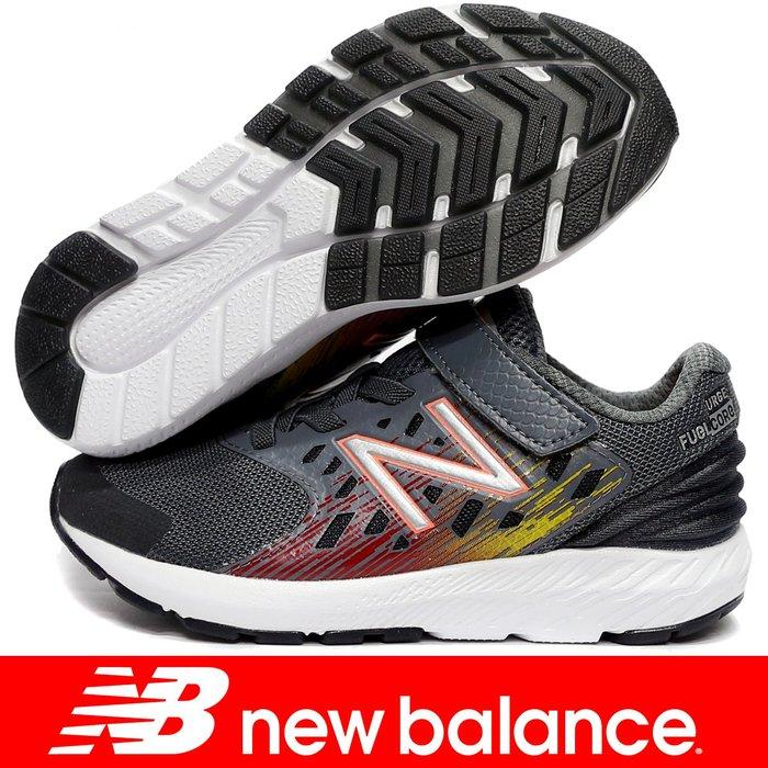 鞋大王New Balance PXURGLR 灰色 單黏帶運動鞋(童鞋17-21㎝)【免運費,加贈襪子】801NB