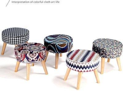 【喬勝小鋪】☆韓版小椅凳可拆洗 /沙發矮凳/穿鞋椅 / 裝飾品/換鞋椅