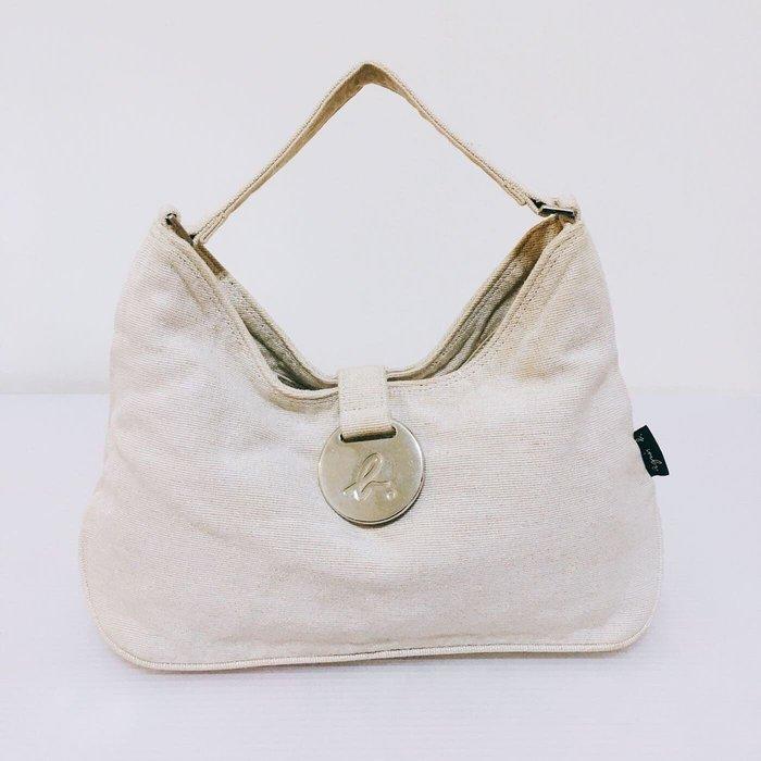 Agnes b. 米色肩背包手提包日本製 小b肩背包
