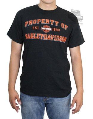 Harley-Davidson 哈雷機車 Property 短袖T恤 黑色 S M L XL 全新 現貨