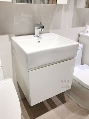 《振勝網》TOTO L710CGUR 檯面盆+TO-152 鋼烤浴櫃組(不含龍頭) / 時尚斜把手設計