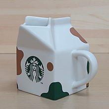星巴克 牛年 牛奶盒造型馬克杯