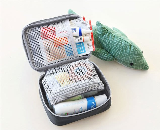 H44 隨身藥物收納包 急救收納包 出差旅行收納包 出國收納包 3C收納包 攜帶收納包 急救包 攜帶式藥包