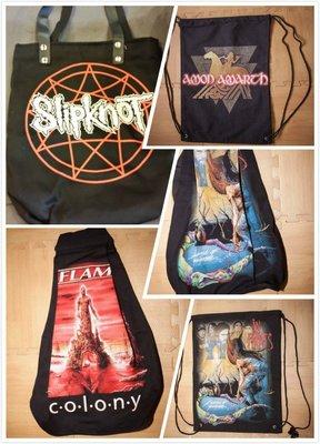 【搖滾帝國】束口袋 背包 手提袋 Nightwish、In Flames、Balck Sabbath