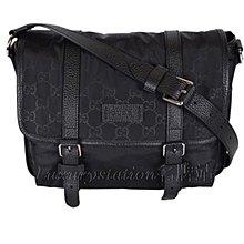 全新Gucci 510335 K28AN 1000 絹料斜揹袋