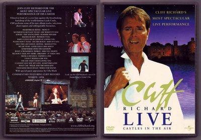 音樂居士#Cliff Richard Castles In The Air Love () DVD