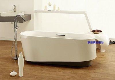 【歐築精品衛浴】KOHLER《美國》✰ EVOK系列橢圓獨立式浴缸K-18347T-0