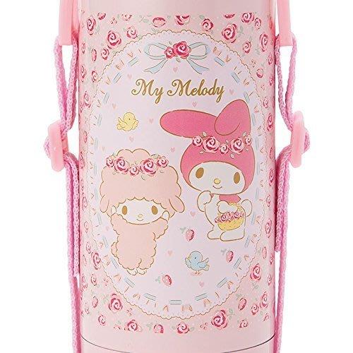 【東京速購】三麗鷗 美樂蒂  2way保冷 保溫 不鏽鋼水壺