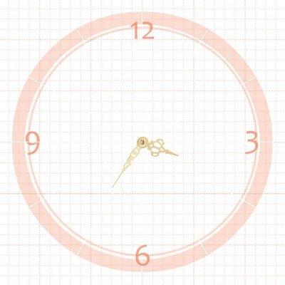 【鐘點站】J051035G 分針5.1公分 時針3.5公分 DIY 時鐘 掛鐘 鐘針 / SKP壓針機芯 專用指針