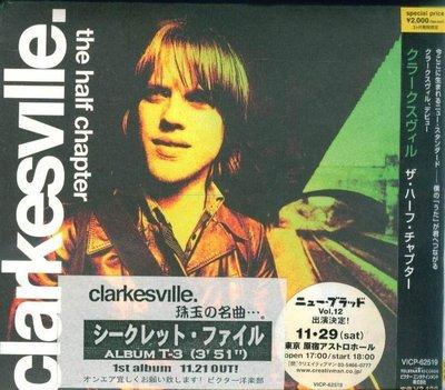 K - clarkesville - The Half Chapter - 日版+2BONUS - NEW
