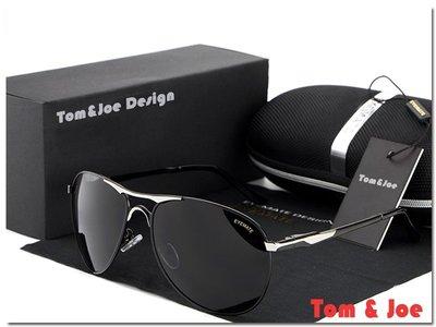 Tom & Joe 鈦鎂系列-EM11 造型 偏光 太陽眼鏡 墨鏡 司機鏡