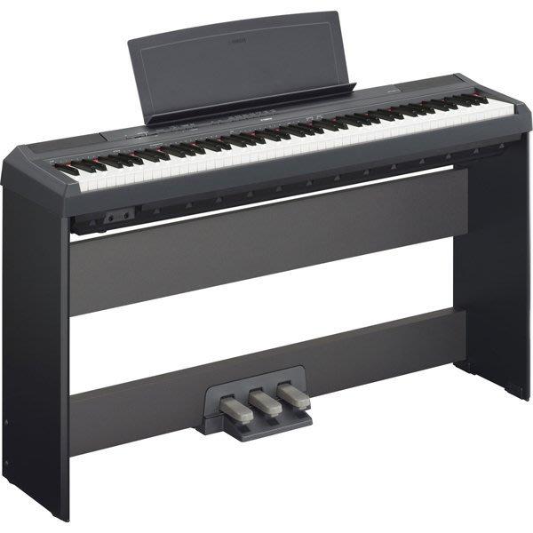 造韻樂器音響- JU-MUSIC - 全新公司貨 YAMAHA 數位 電鋼琴 P-115 P115 黑色 另有 P-45