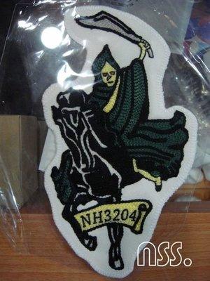 【NSS】NEIGHBORHOOD NBHD GRIM C PATCH  NH3204 貼布