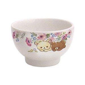 4165本通 拉拉熊 陶瓷碗 (粉色小花/11公分) 4974413718561 下標前請詢問