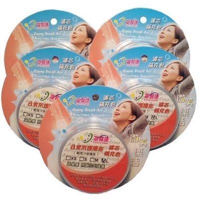 [罩鼻康Nosecomm]濾芯特惠組(無鼻罩)--日常防護隱形--L適用(5盒-30對濾芯)