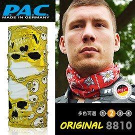 【ARMYGO】P.A.C. Original 系列多用途頭巾 (黃黑骷髏頭圖騰 )