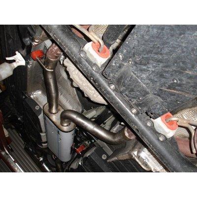DIP 德國 Fox 排氣管 Audi 奧迪 Q7 4.2l FSI 中段 專用 05+