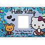 【卡漫迷】Hello Kitty 單孔 開關蓋板 ㊣版...