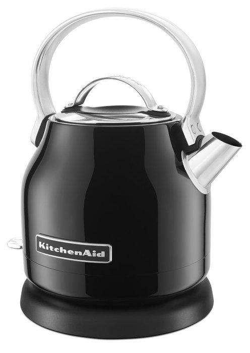 【Sunny Buy 生活館】Kitchenaid 小型電水壺(黑) KEK1222 熱水壺 不鏽鋼 快煮壺