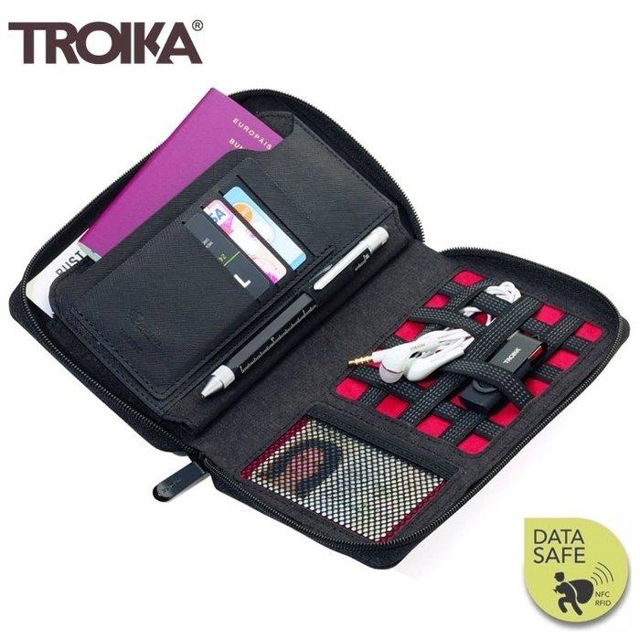 又敗家@德國TROIKA防RFID-NFC信用卡防盜包旅行包TRV90/DG防感應護照包防感應錢包防盜刷包防側錄包旅行袋