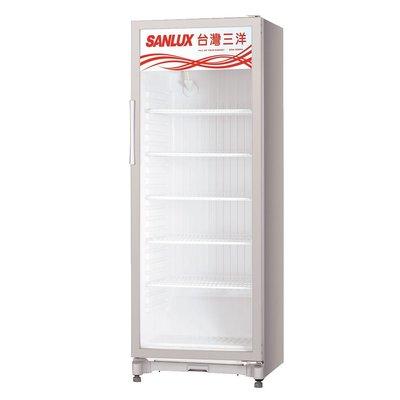 SANLUX台灣三洋  400公升 直立式冷藏櫃 SRM-400RA