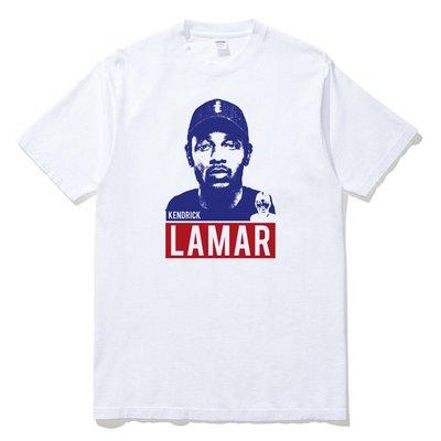 Kendrick Lamar 短袖T恤 2色 歐美潮牌饒舌歌手 相片人物 hip hop 嘻哈音樂印花潮T