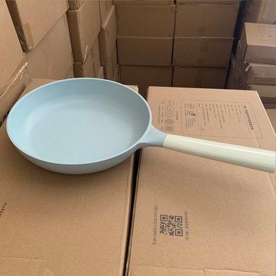 [貓吃魚]【特價清倉】出口瑞士大牌外貿尾單麥飯石家用平底鍋不粘鍋煎炒鍋