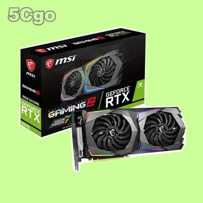 5Cgo【捷元】  微星MSI RTX2070 GAMING Z 8G PCI-E顯示卡  一年保固