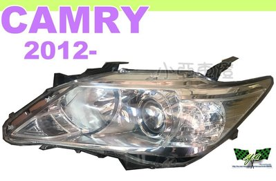 小亞車燈*全新 CAMRY大燈 7代 12 13 14 2012 2013年 汽油版 電調原廠型HID版大燈