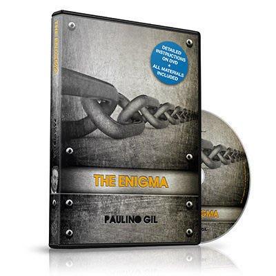 【意凡魔術小舖】美國原廠 ~ The Enigma by Paulino Gil ~ 謎繩 ~ 最佳隨身繩子魔術!