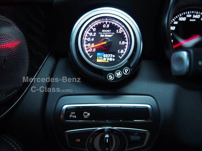 【精宇科技】BENZ W205 C180 C250 C43 C63 GLC250 GLC43 冷氣出風口渦輪水溫排溫錶