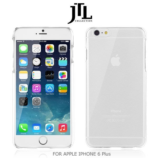 免運【高雄 MIKO手機館】JTL APPLE IPHONE 6 5.5吋 超防刮保護殼 薄輕 透色殼 硬殼(IJ5)