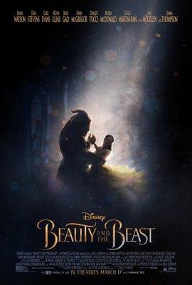 美女與野獸真人版-Beauty and the Beast(2017)原版電影海報