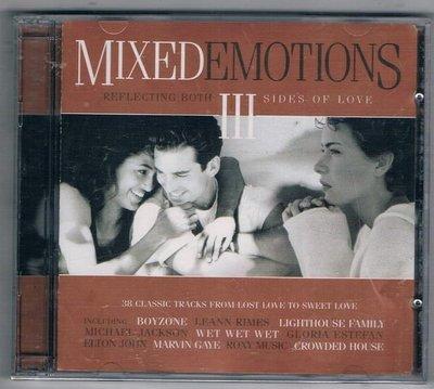 [鑫隆音樂]西洋CD-合輯:MIXED EMOTIONS:REFLECTING BOTH 3 SIDES OF LOVE(全新)2CD