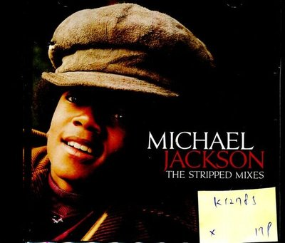 *真音樂* MICHAEL JACKSON / THE STRIPPED MIXES 二手 K12785 (封底破)