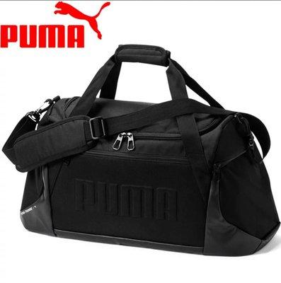 =E.P=PUMA GYM 手提包 大容量 旅行袋 黑色 LOGO 075741-01