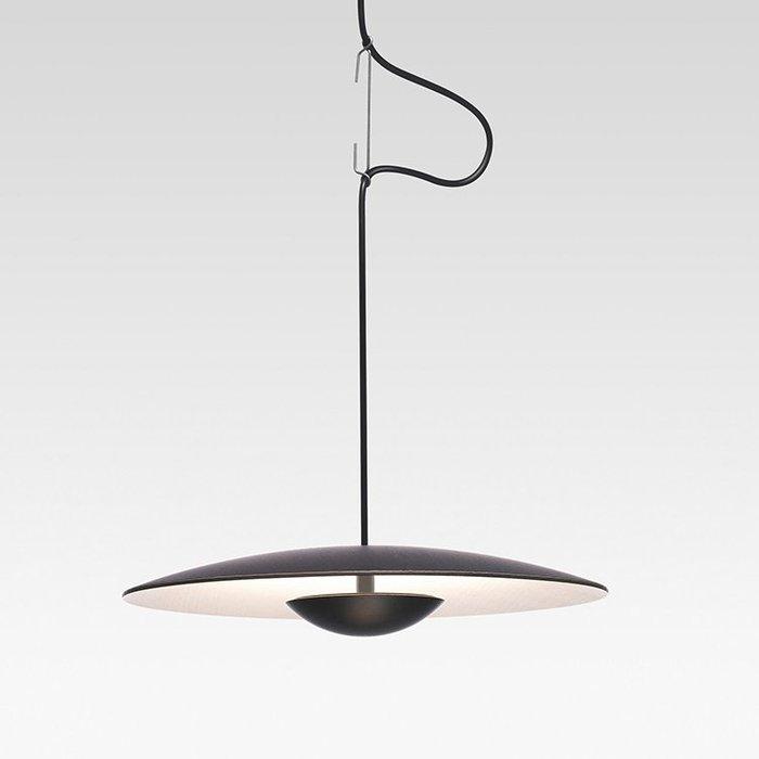 UFO 直徑450mm 北歐風格 餐廳 吊燈 創意 極簡臥室燈 時尚藝術走廊 裝飾 燈具 暖光 LED 110-220V