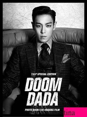 BIG BANG T.O.P Special Edition [Doom Dada] 韓國原版特別版單曲贈寫真集影像認證卡全新未拆TOP