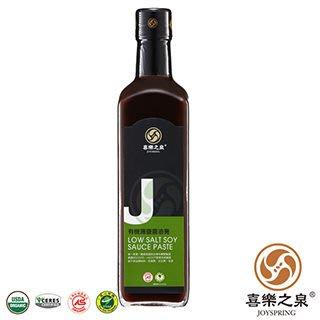 阿邦小舖 喜樂之泉 有機薄鹽醬油膏(500ml)