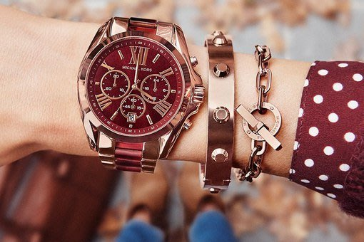 【KOIKOI戀戀時尚精品】Michael Kors 酒紅羅馬時尚玫瑰金三眼腕錶 MK6270 MK 手錶 免運有保固