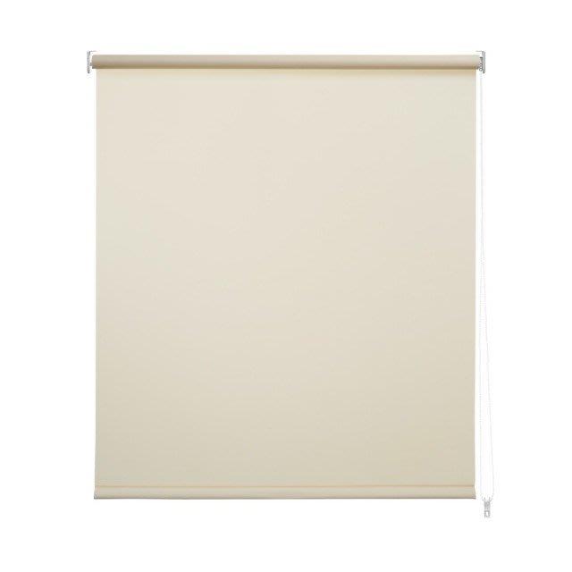 【TRENY直營】半遮光捲簾 150X190CM-米白 窗簾 居家 辦公室 HD-P-3