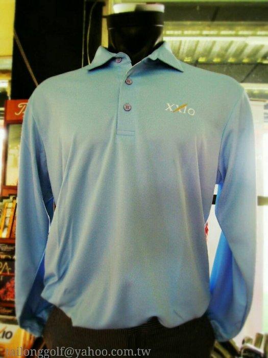 全新DUNLOP Golf XXIO 高爾夫長袖POLO衫 舒適休閒 抗UV#薄長袖