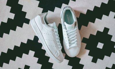 =E.P=ADIDAS STAN SMITH W 女款 白色 三葉草 白綠 銀 休閒鞋 史密斯 G27907