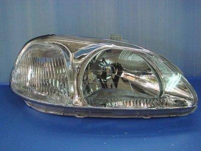 小亞車燈╠ 全新喜美K8-96-98改款前日規晶鑽大燈(附小燈)DEPO製