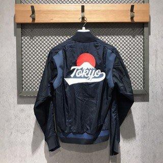 FOCA ADIDAS VRCT TOKYO 城市運動外套 FI4030 深藍色 富士山 東京 日本 薄外套 愛迪達