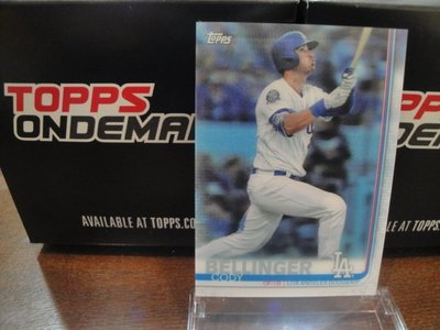 現貨 MLB 2019 TOPPS ON-DEMAND 3D 棒球 球員卡 CODY BELLINGER 貝林爵