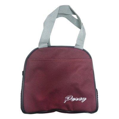 Percy字樣便當袋I02-紅
