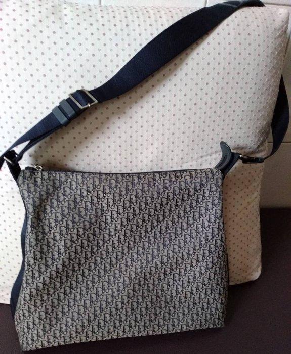 ※ Christian Dior ※  緹花大斜背包 側背包