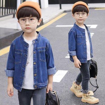 童裝兒童牛仔外套男童春秋季正韓夾克上衣中大童秋裝潮衣