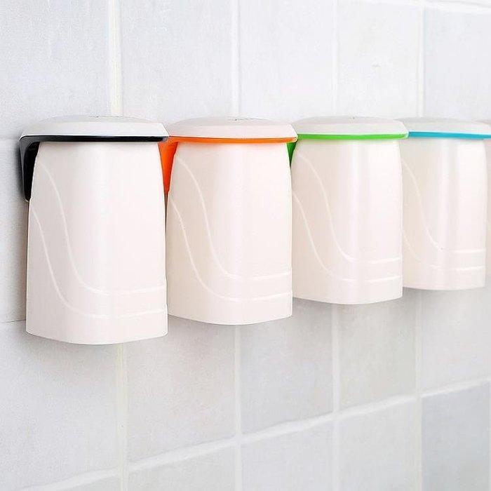EZWIN磁吸懸掛漱口杯 刷牙杯情侶洗漱杯洗臉創意牙缸牙杯牙刷杯子-奇妙世界Al免運 新品